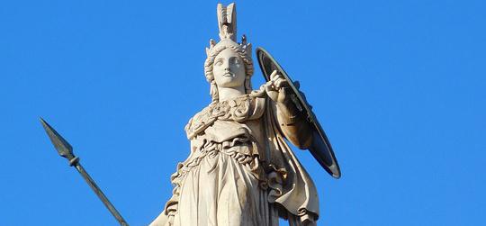 Atenea y el Olivo