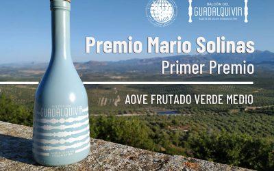 Nuestro AOVE Premium, Primer Premio Mario Solinas 2021