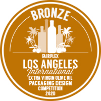 Medalla bronce Los Angeles 2020 Packaging